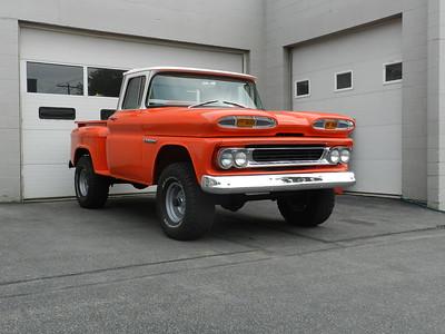 1960 Chevrolet Pickup - Factory 4 Wheel Drive