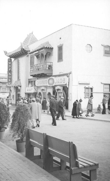 1939, Bench on Gin Ling Way
