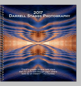 2017 Calendar abstract desk planner