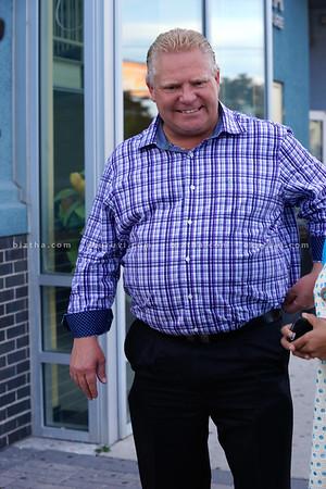 Doug Ford visits Iyappan Temple and GTA Square Mall -28-sep-2014