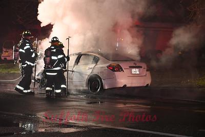 Vehicle Fire - Yaphank, NY - 12/11/20