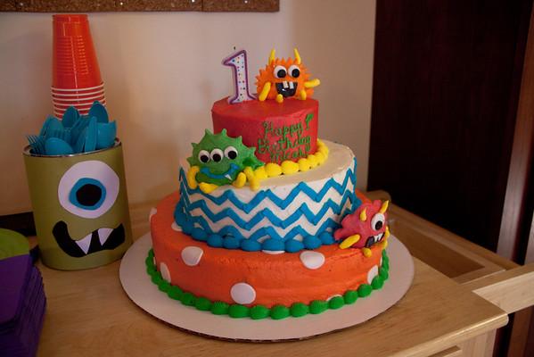 Micah's 1st Birthday