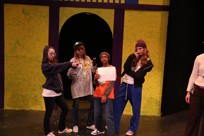 NNHS Drama- Spring Play TCW of Shakespeare
