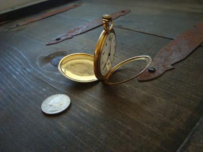 Old Illinois pocket watch