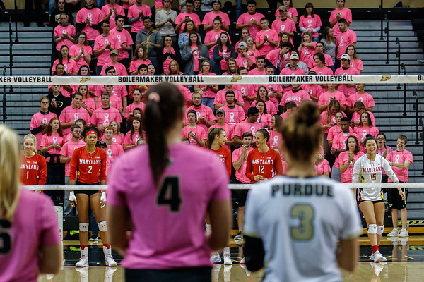Purdue Volleyball vs Maryland 2018-10-20