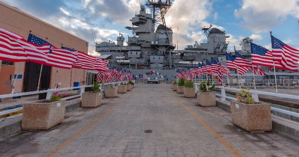 Battleship Missouri Memorial - this was part of our Pearl Harbor tour on 11/11/2018