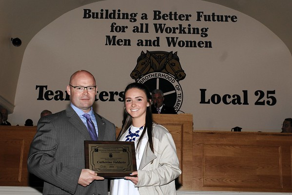 Teamsters Local 25 Scholorship Awards - May 15, 2016