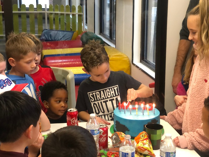 20191117 Dylan's 8th Biirthday Party