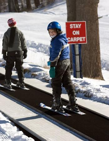Mt. Cranmore Skiing - January 25, 2005