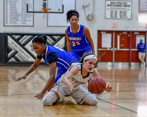 20181207 Varsity Girls Basketball Northwest vs Watkins Mill