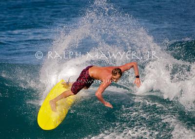 Surfing - Honolua Bay, Maui - 8 Feb 2011