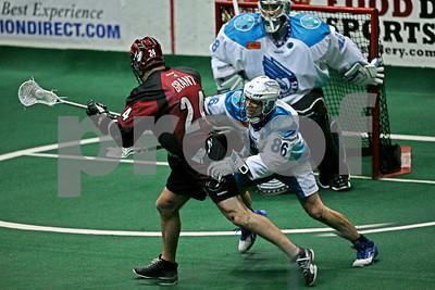 3/31/2012 - Colorado Mammoth vs. Rochester Knighthawks - Blue Cross Arena, Rochester, NY