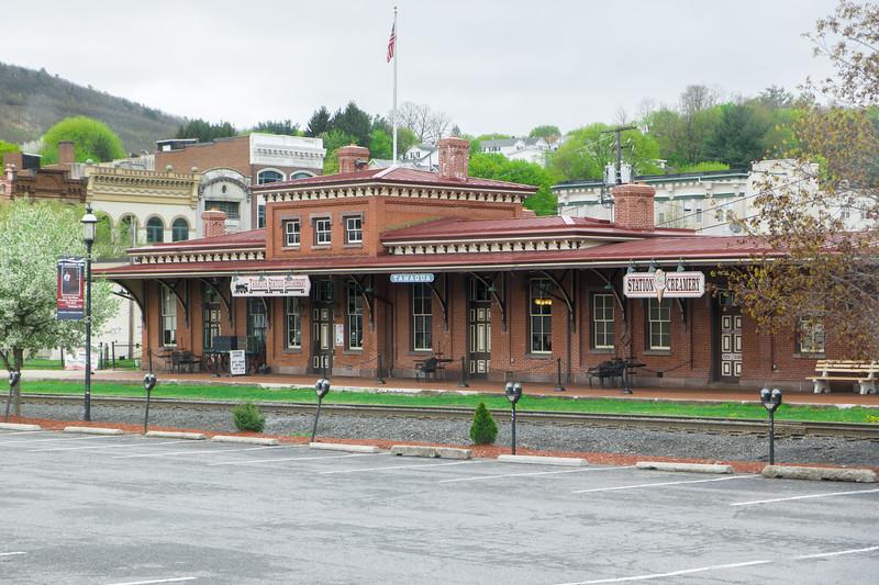 Tamaqua, PA Old Train Depot