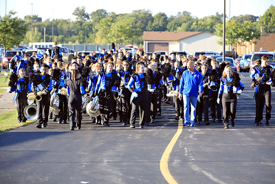 CHS Football and Marching Band Sept 14
