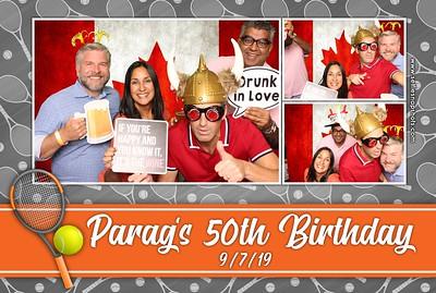 Parag's 50th Birthday 9.7.19