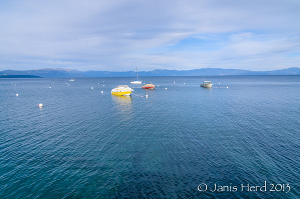 Boats, Lake Tahoe, Nevada