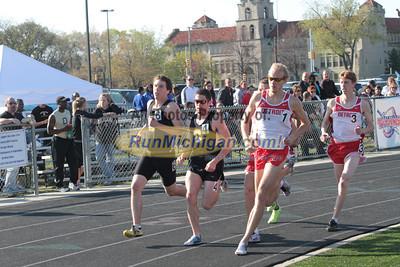 1 Mile Men - 2012 OU vs UDM Dual Meet