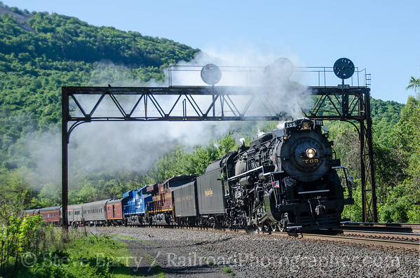 2013-05 Nickel Plate Steam on the Pennsy