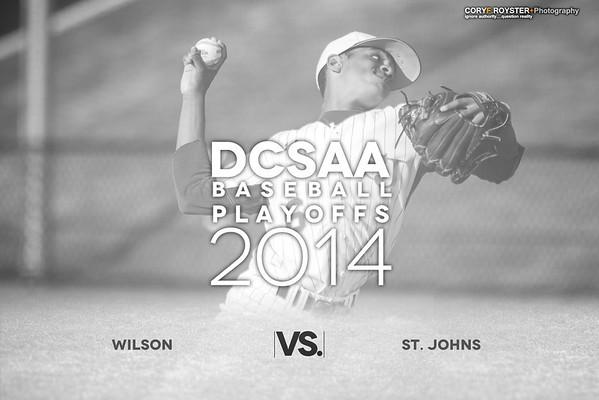 DCSAA Semifinal - Wilson v St Johns