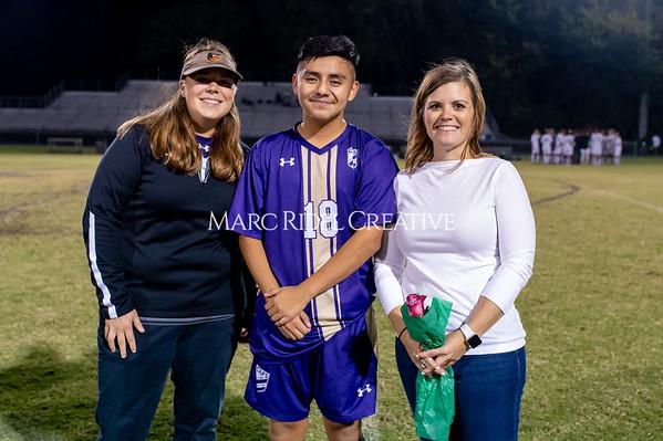 Broughton soccer senior night vs Leesville. October 21, 2019. D4S_8560