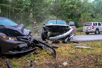 9-12-18 MVA With Injuries, Bear Mountain Bridge Road, Photos By Bob Rimm