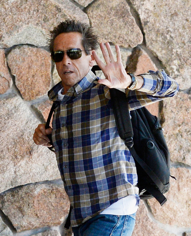 . Brian Grazer, film and television producer co-founded Imagine Entertainment in 1986, with Ron Howard, for the annual conference on July 9, 2013 in Sun Valley, Idaho. The resort will host corporate leaders for the 31th annual Allen & Co. media and technology conference where some of the wealthiest and most powerful executives in media, finance, politics and tech gather for a weeklong meetings which begins Tuesday. Past attendees included Warren Buffett, Bill Gates and Mark Zuckerberg.  (Photo by Kevork Djansezian/Getty Images)