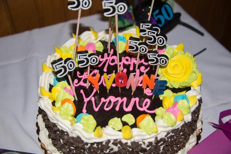 Yvonne's 50th Birthday 2015