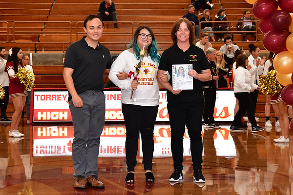 TP GBB Senior Night 2-6-19