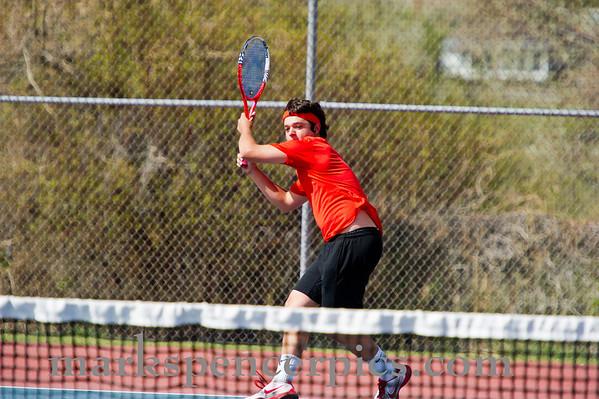 Tennis SHS boys vs Timpview 4-19-2012