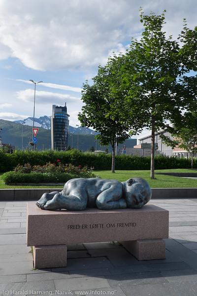 Narvik sentrum 16. august 2017