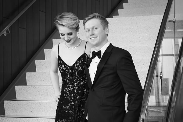 Thea & Andrew Prom