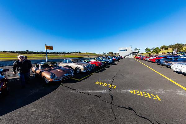 Thoroughbred Sports Car Club Display