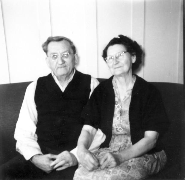 Great Grandparents San Francisco 1953