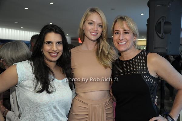 Givya Gugnani, Victoria's Secret Model Lindsay Ellingson, Jani Freidman photo by Rob Rich/SocietyAllure.com © 2014 robwayne1@aol.com 516-676-3939