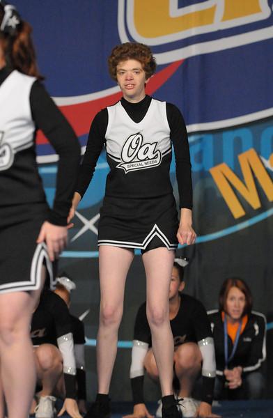 OA A's Spirit Cheer Peabody