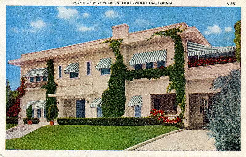 Home of May Allison