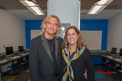 Joe Walsh Donates a New Library at MHS