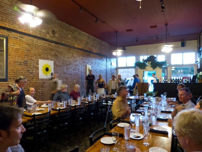 Inside Luceddi's in Oroville.