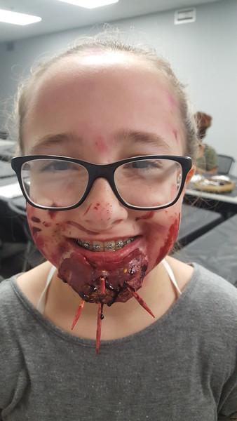 Teen Monster Make-up