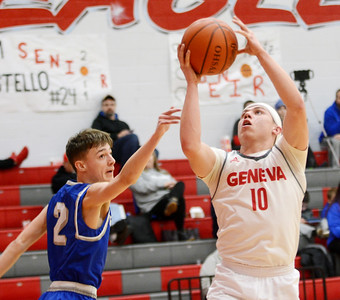 Grand Valley at Geneva and Newton Falls at Edgewood boys basketball Feb. 12, 2019