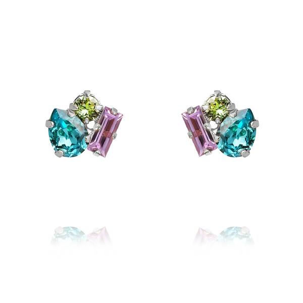 Isa Earrings : Light Turqouise + Violet + Chrysolite.jpg