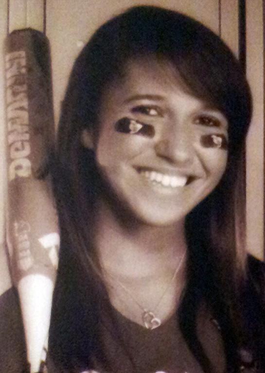 . Courtnee Laughlin has been named to The Sun\'s All-Area softball team.  Laughlin plays softball for Colton High School. Courtesy photo to The Sun.