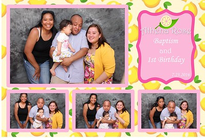 Athena's 1st Birthday and Baptism