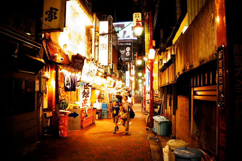 Shinjuku . Golden gai