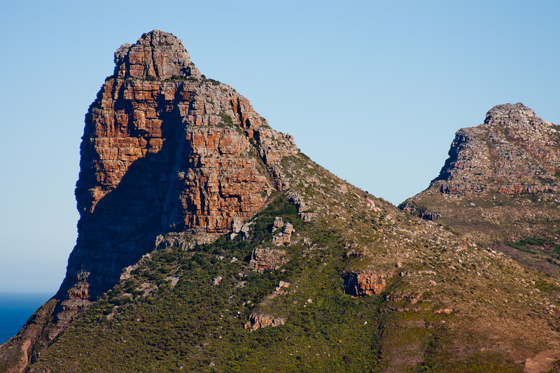Cape Point Mountains in South Africa