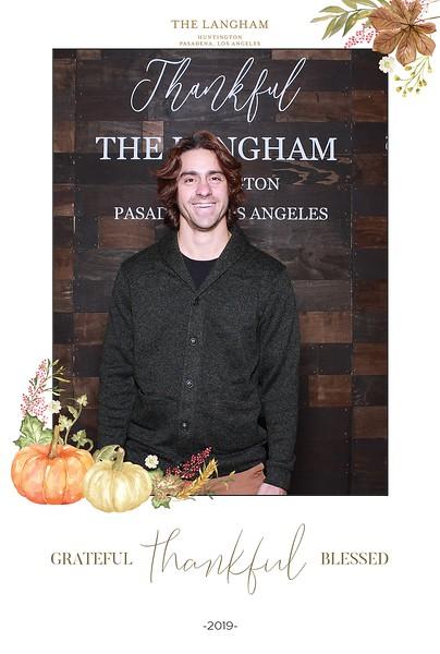 Langham Pasadena - Thanksgiving 2019
