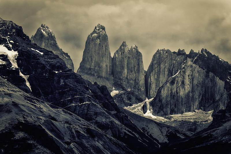 Cerra Torres, Torres del Paine National Park, Chile