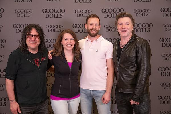 Goo Goo Dolls Meet & Greet Wave 2