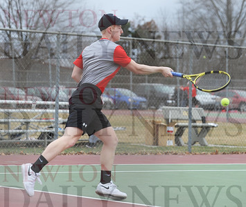 Newton High boys tennis 2019