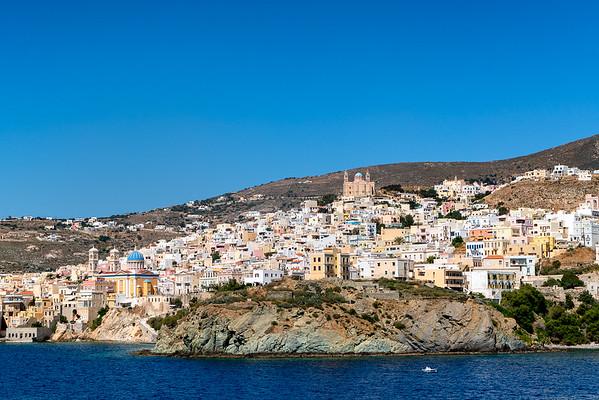 Piraeus Port & Syros